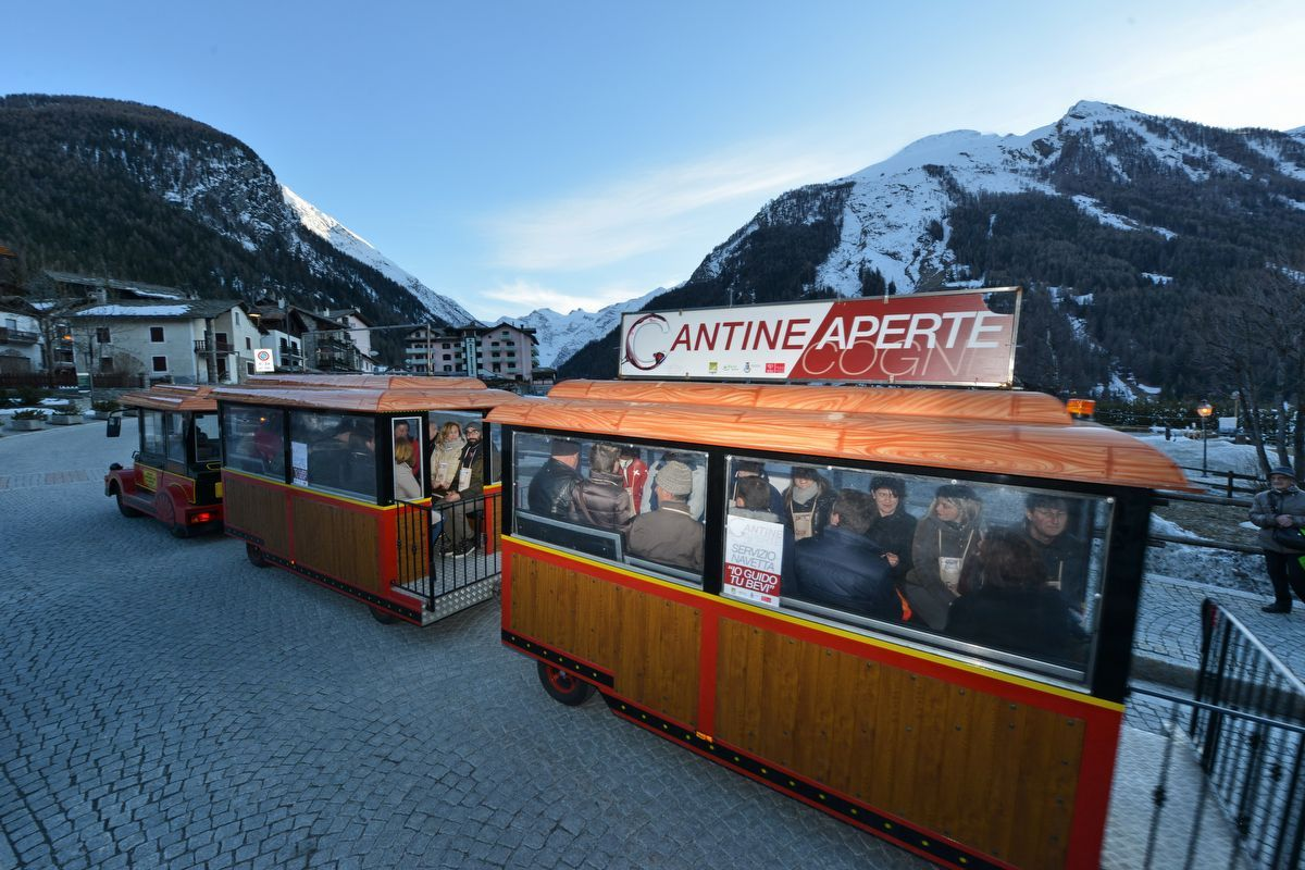 Trenino Wine Express Cantine Gourmet - Cogne - Valle d'Aosta