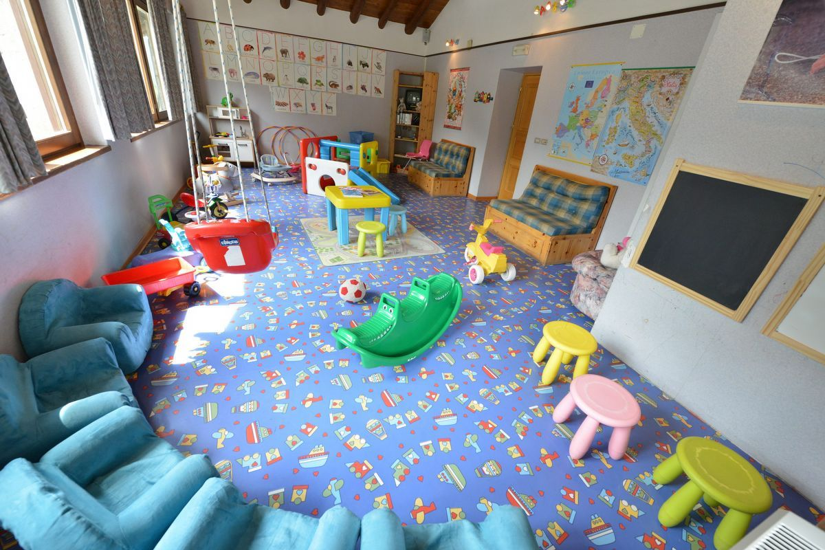 Play centre of Petit Hotel in Cogne