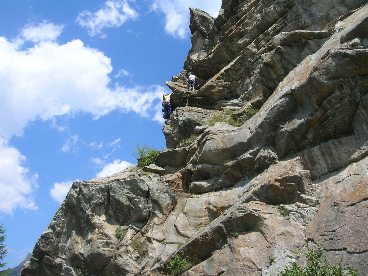Rock Climbing in Cogne - Aosta Valley