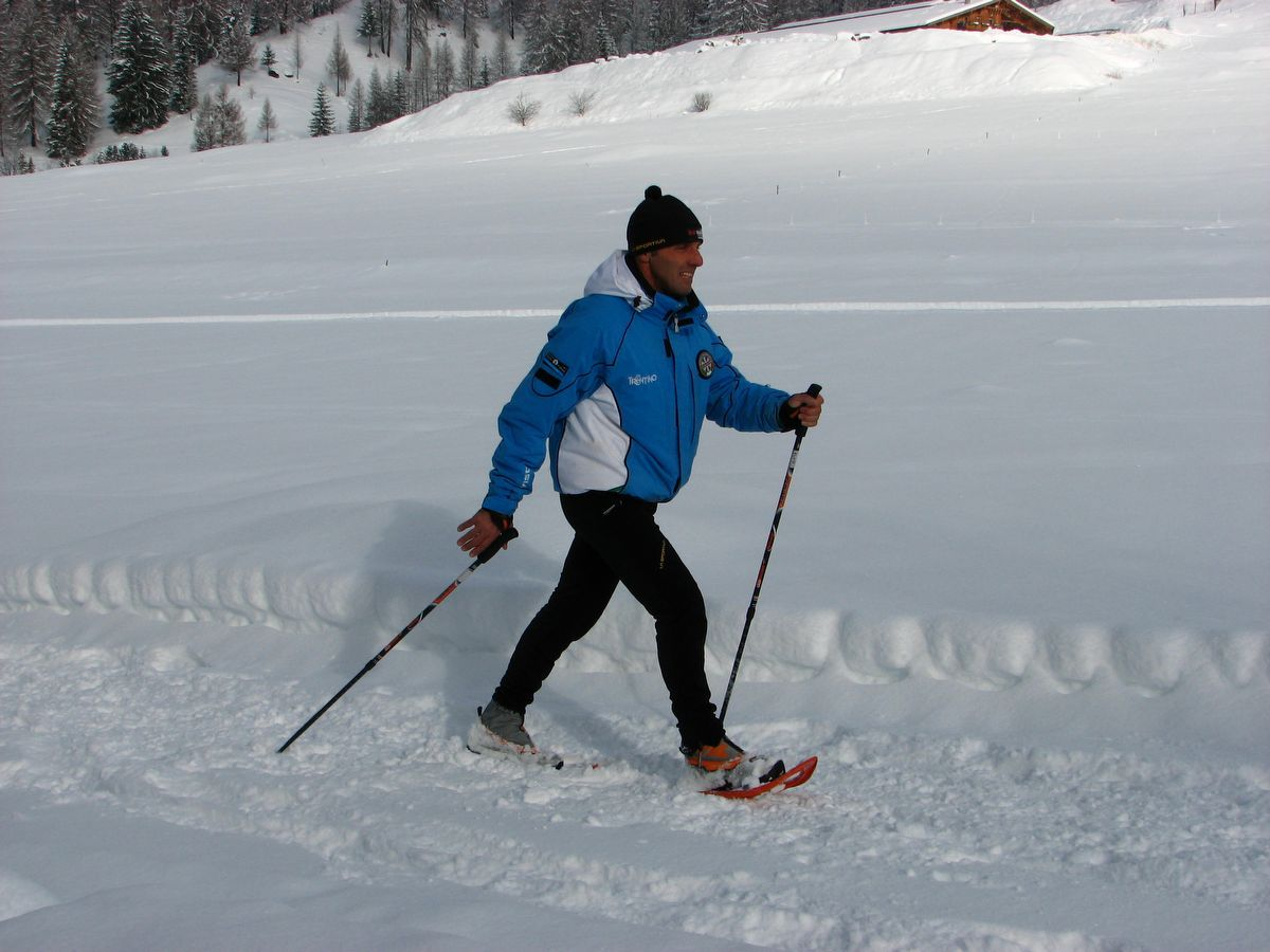 Nordic Walking a Cogne in inverno - Valle d'Aosta