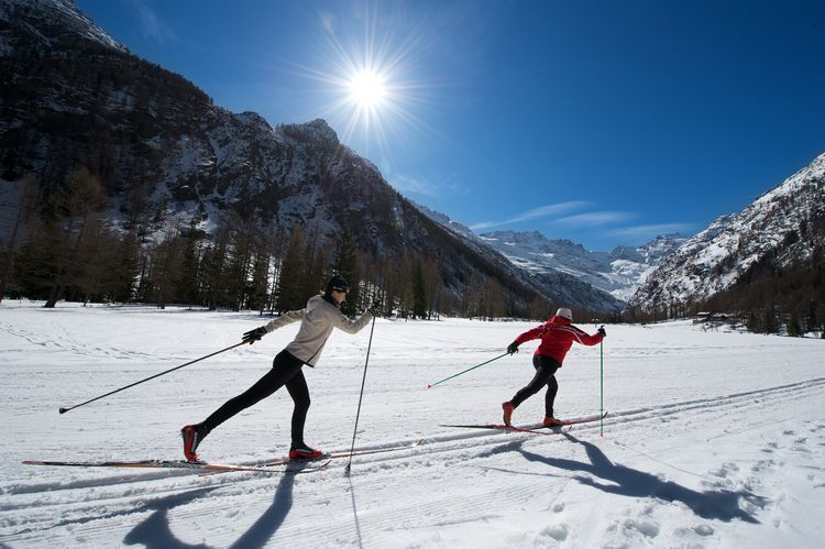 Nordic Skiing in Cogne - Aosta Valley