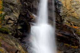 Lillaz Waterfalls in Cogne - Aosta Valley